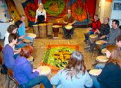 Djembe workshop teambuilding Zeeland