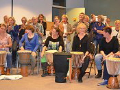 djembe workshop Drenthe